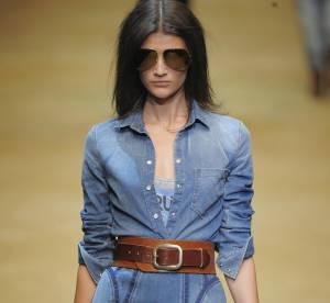 Les couleurs de la Fashion Week Printemps-Eté 2010 : le bleu