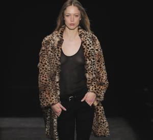 Trouvez votre manteau léopard de l'hiver