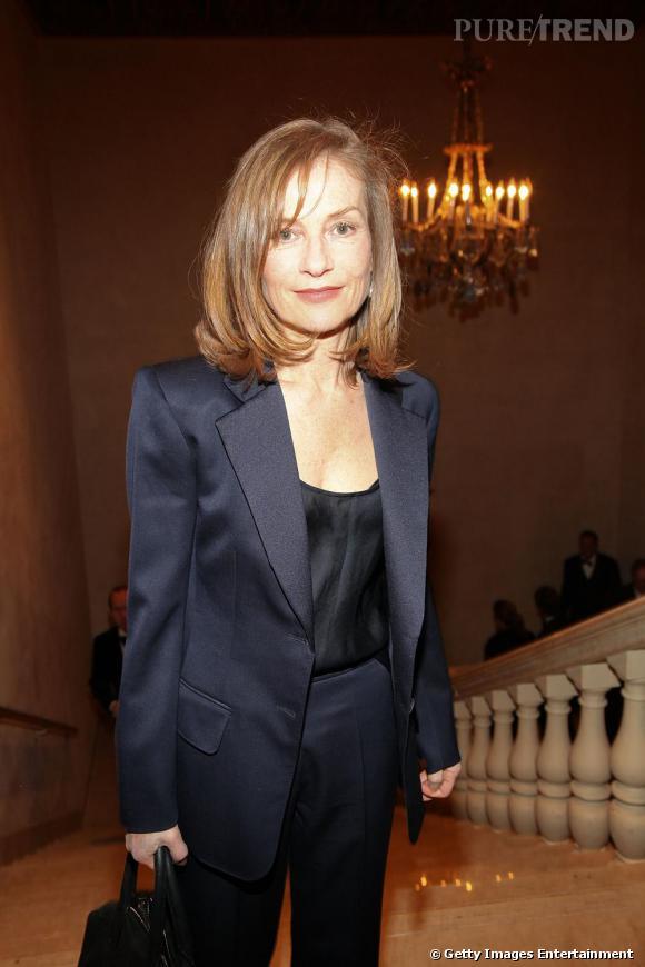 Isabelle Huppert aux Trophées des Arts Gala à New-York