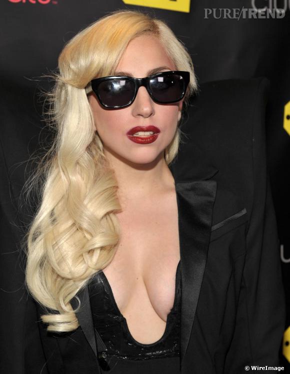 Lady Gaga à la soirée de lancement du club Beats à Los Angeles