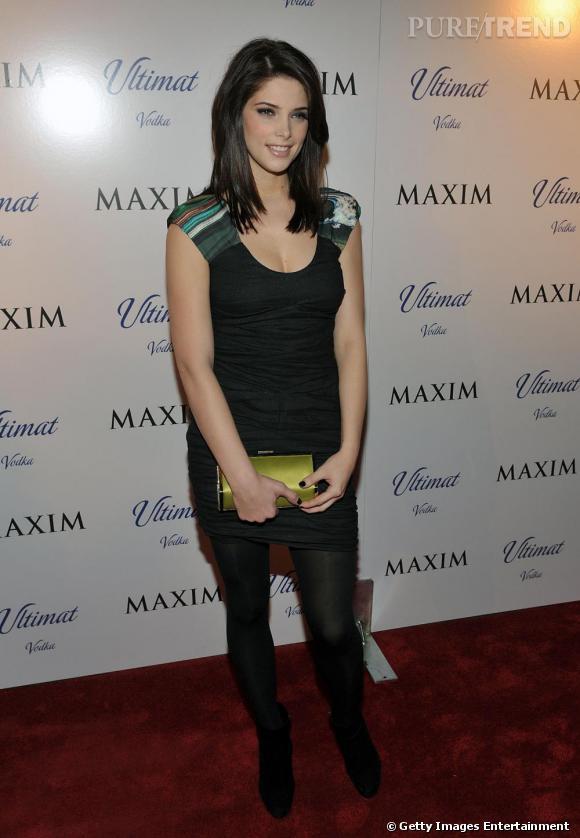 Ashley Greene lors de la soirée du magazine Maxim