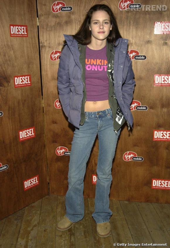 Kristen Stewart avait alors 14 ans. Elle n'avait pas encore de style, mais son visage n'a pas changé.