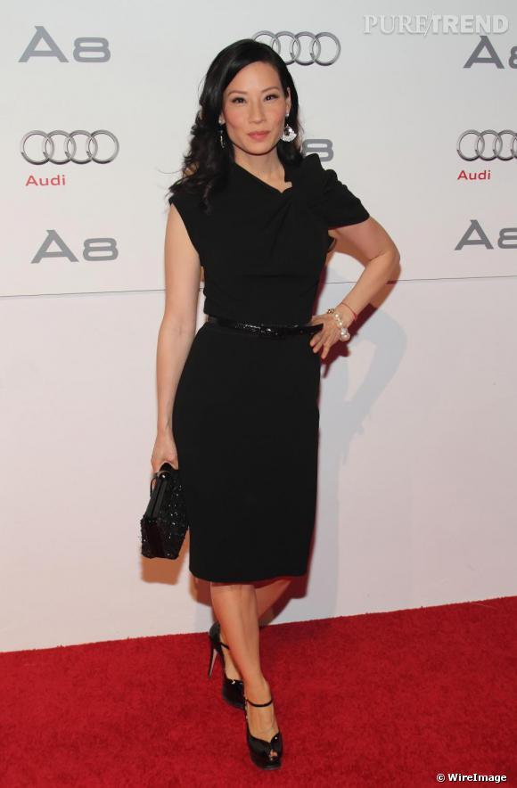 Lucy Liu à la soirée The Art of Progress à Miami