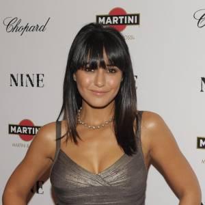 Emmanuelle Chriqui à la première du film Nine à New-York