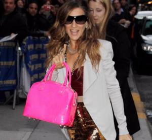 Sarah Jessica Parker, le total look bling-bling