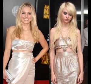 Taylor Momsen vs Kristen Bell : laquelle porte le mieux la robe 2 pièces ?