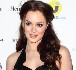 Leighton Meester, tentatrice dans une robe découpée