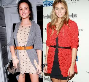 Gossip Girl Vs The City : qui de Leighton Meester ou Olivia Palermo porte le mieux la cardigan dress ?