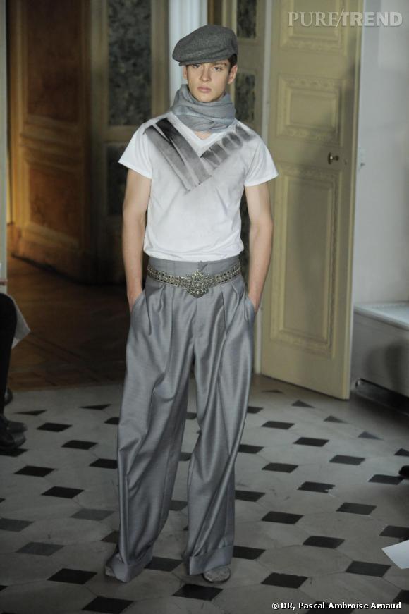 Défilé prêt-à-porter Homme Paris Automne-Hiver 2010-2011 : Alexis Mabille