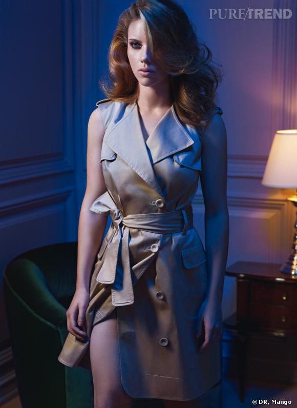 Scarlett Johansson égérie Mango dans la campagne Printemps Eté 2010