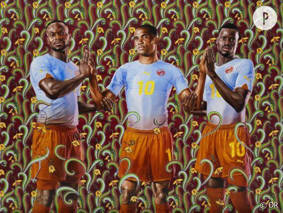 Unity John Mensah, Samuel Eto'o et Emmanuel Eboué.