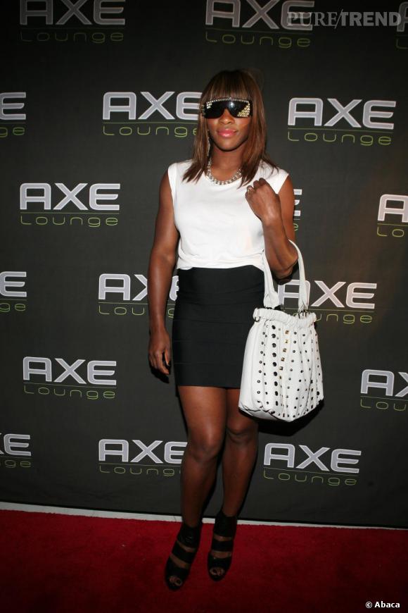 Serena Williams lors de la Super Bowl Party de P. Diddy, à Miami
