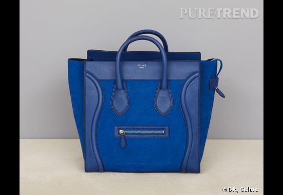 """Sac Céline       Pheobe Philo lance le sac """"Luggage"""", en phase avec sa première collection pour Céline : minimaliste, élégant avec des lignes pures.       Prix :  à partir de 1150€"""