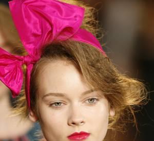 Du rose sur les lèvres comme sur le défilé Marc by Marc Jacobs