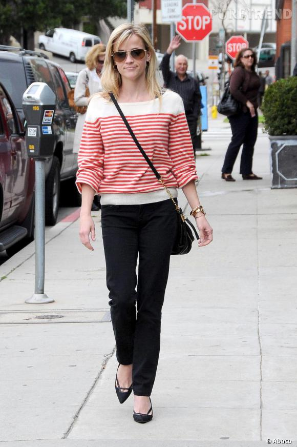 Reese Witherspoon, casual et nature