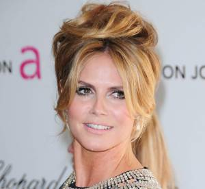 Heidi Klum métamorphosée en Brigitte Bardot
