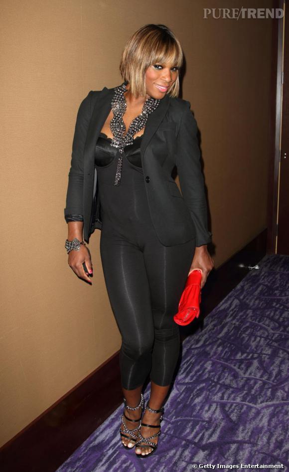 Serena Williams au gala Telemundo à Miami