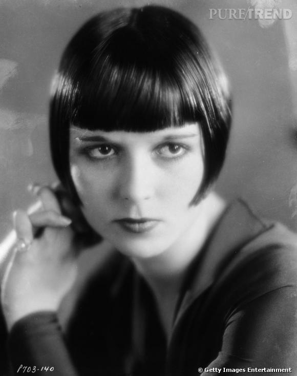 La légendaire Louise Brooks a contribué, dès les années 20, à populariser le carré.