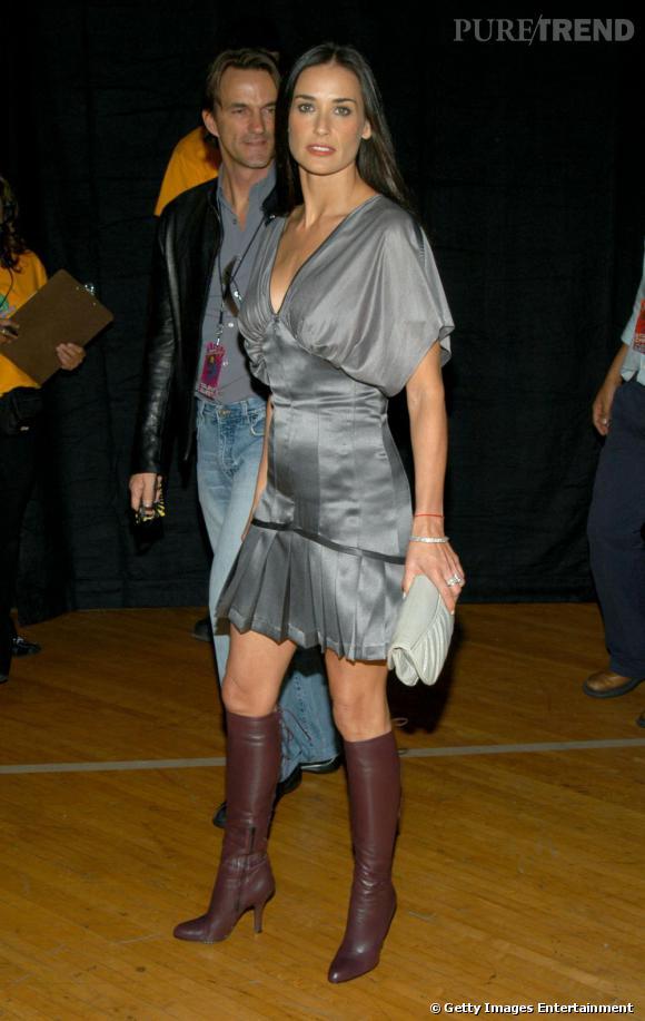 Demi Moore joue les bimbo