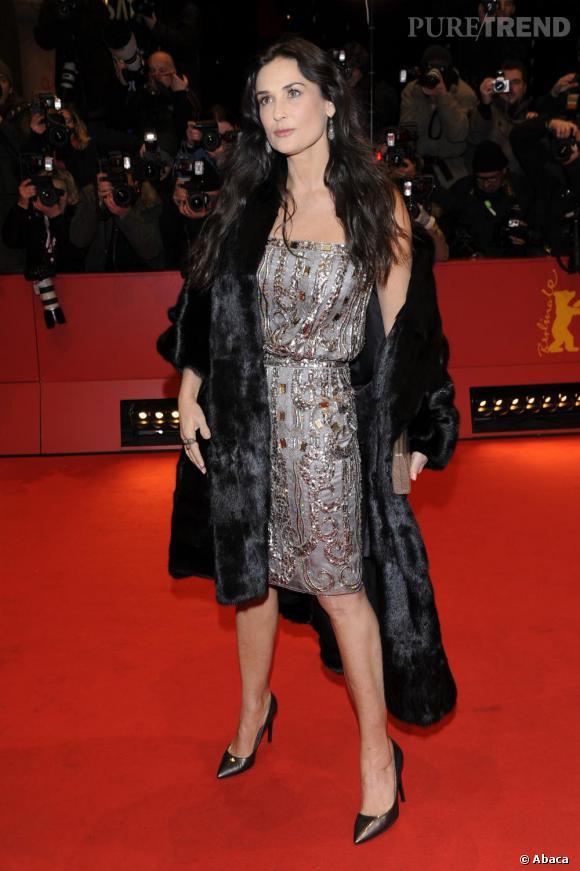 Demi fait son show sur le red carpet