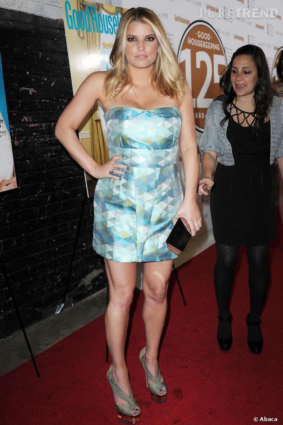 Jessica Simpson lors de la soirée Shine On