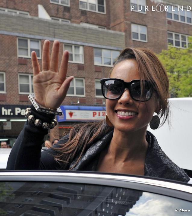 Alicia keys au festival de tribeca à new york