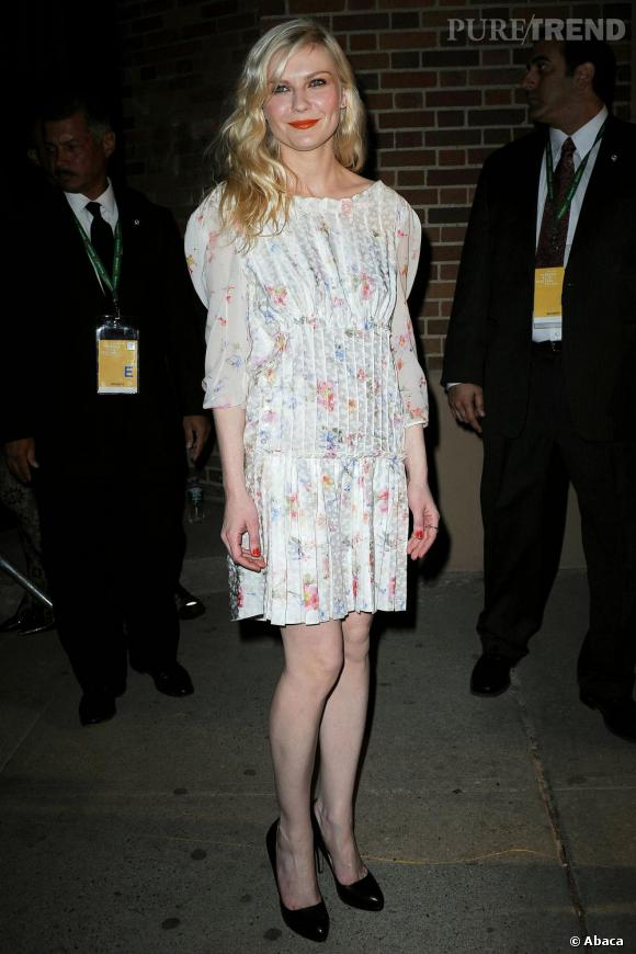 Kirsten Dunst au festival de Tribeca, à New York