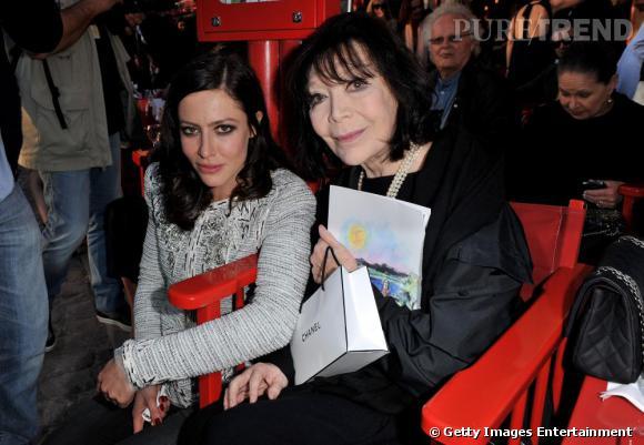 Anna Mouglalis et Juliette Gréco