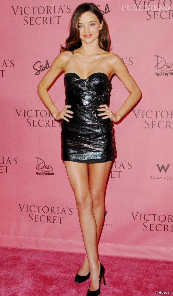 Miranda Kerr lors de la soirée Victoria's Secret à Hollywood