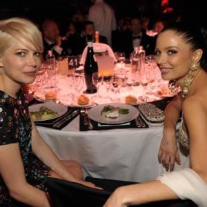 Les deux belles Michelle Williams et Georgina Chapman brillaient chacune de mille feux.