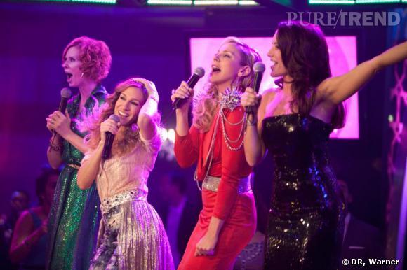 Miranda, Carrie, Samantha et Charlotte