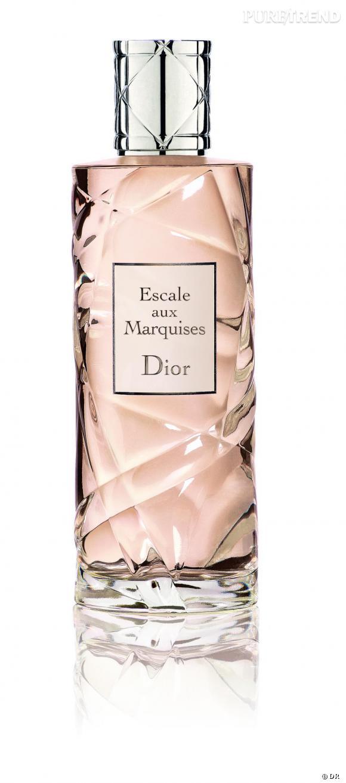 Une touche de monoï        Cet été la fleur de tiaré se porte en fragrance. Dior fait escale aux marquises pour une eau de cologne qui sent bon la plage.       Escale aux Marquises de Dior     Disponible à partir de juin
