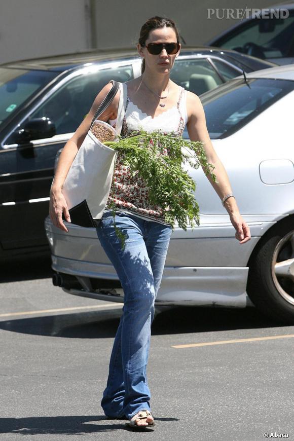 Jennifer Garner fait ses courses à Los Angeles
