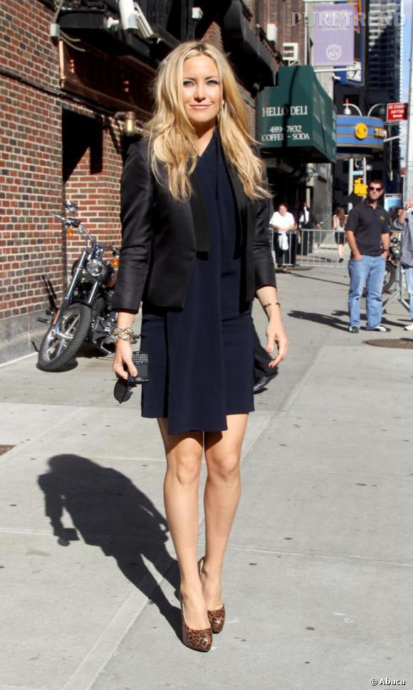 Kate Hudson très élégante dans les rues de New-York