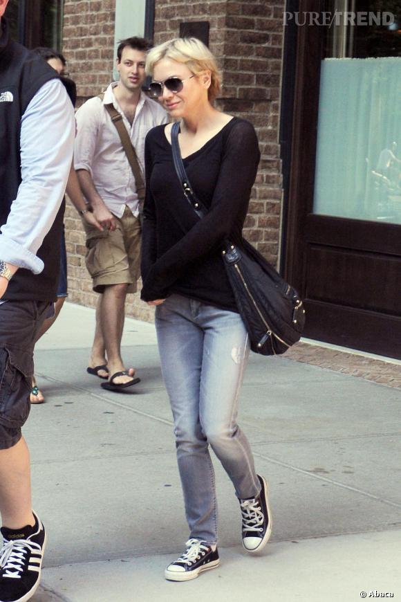 Renée Zellweger et son look casual très féminin