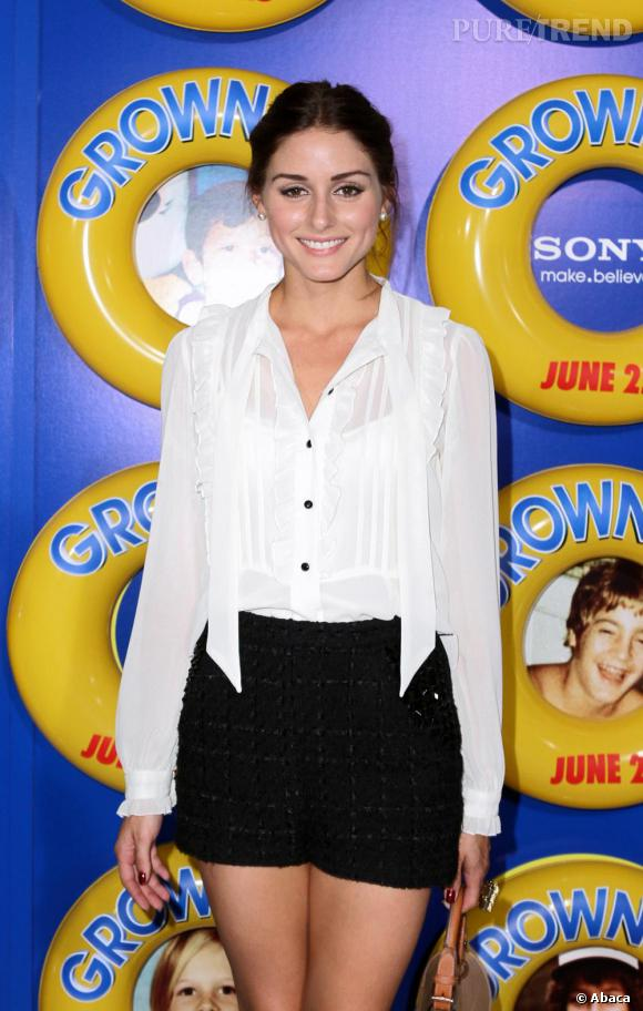 Olivia Palermo lors de la première de la nouvelle comédie américaine  Grown Ups .
