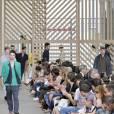 Front row du défilé Louis Vuitton