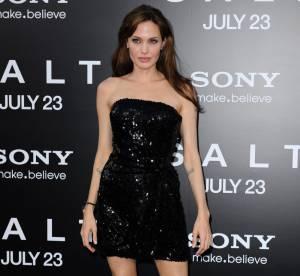 Le look du jour : Angelina Jolie pimente la petite robe noire