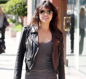 Michelle Rodriguez, rock et sexy... A shopper !