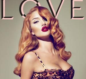 Rosie Huntington vs. Gisele Bundchen : qui est la plus vamp en une du magazine Love ?