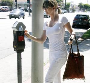 Ellen Pompeo, virginale en total look blanc