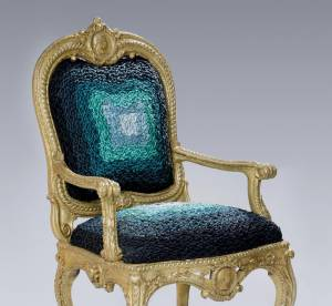 Un fauteuil Haute Couture par Alexis Mabille