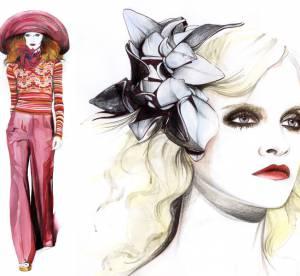 La Fashion Week illustrée : le défilé Marc Jacobs