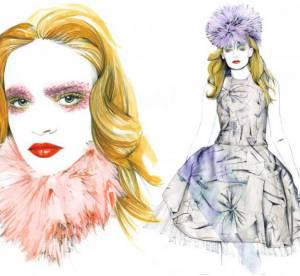 La Fashion Week illustrée : le défilé Giles