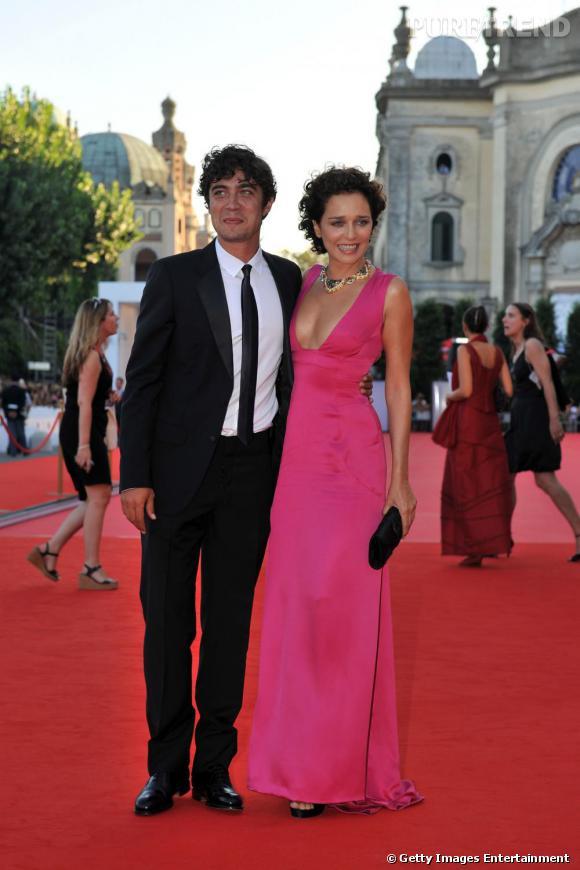 L'actrice Valeria Golino et Riccardo Scamarcio.