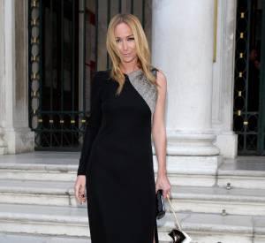 La directrice artistique de Gucci, Frida Giannini dans l'une de ses créations pour la griffe.