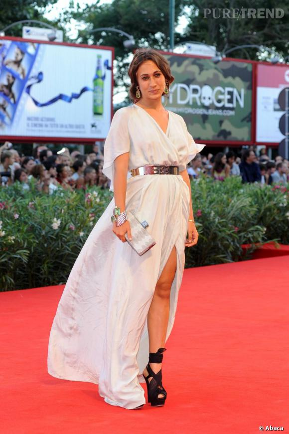 Delfina Delettrez Fendi, digne héritière du chic italien.