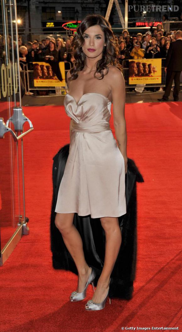 Elisabetta Canalis, plus connue pour son boyfriend George Clooney que pour sa propre carrière.