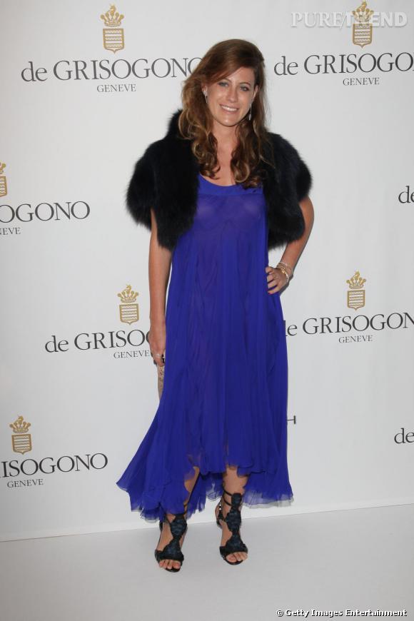 """Francesca Versace, """"nièce de"""" reconvertie en créatrice de mode."""