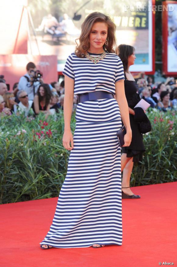 L'actrice Jasmine Trinca, que l'on a pu voir entre autres dans  Romanzo Criminale .